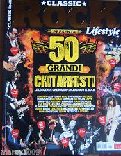 CLASSIC ROCK LIFESTYLE=50 GRANDI CHITARRISTI=CLAPTON-HENDRIX-SANTANA-BB KING...