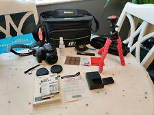 Canon EOS Rebel SL2 24.2MP Digital Camera - Black includes case and lens