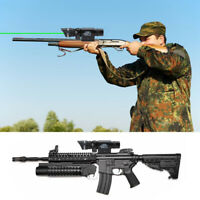 Tactical Green Red Laser Sight Rifle Dot Scope+ Switch + Mounts Hunting
