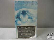 Rabbit Ears - Tale of Mr. Jeremy Fisher & Tale of Peter Rabbit VHS Meryl Streep