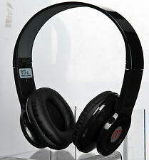 Happybird New Lcd Stereo Wireless Headphone with Fm/Mp3/Reacharge battery(black)
