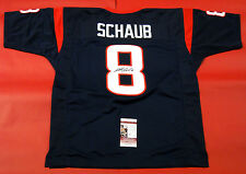 MATT SCHAUB AUTOGRAPHED HOUSTON TEXANS JERSEY JSA
