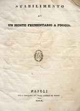 PUGLIA FOGGIA TAVOLIERE AGRICOLTURA ASSISTENZA