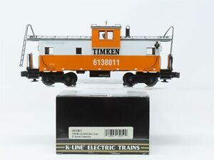O Gauge 3-Rail K-Line K613-8011 Timken Extended Vision Caboose #6138011