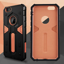 Luxury Ultra-thin Shockproof Armor Back Case Cover for Apple iPhone 5 6s 6 Plus iPhone 4 / 4s Rose