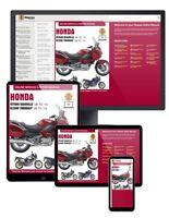 Honda NT700V Deauville & XL700V Transalp (2006-2013) Haynes Online Manual