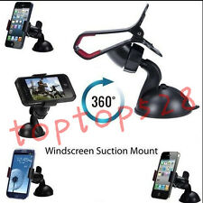 Universal 360° Rotation Car Windshield Mount Clip Holder For Cell Phone Sucker