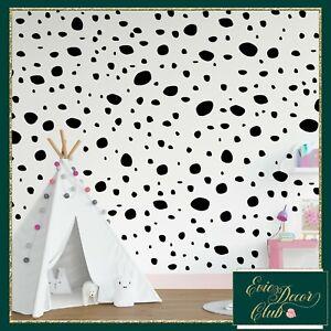 Dalmatian Spots Dots Wall Stickers Decal Art Nursery Children Vinyl Decals Kids