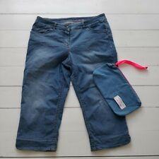 GERRY WEBER Edition Jeans Capri 3/4 Denim Stretch 42 Regular Damen Hose wie neu
