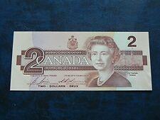 1986 UNC Canada $2 Two Dollar Birds of Canada EGR Bonin / Thiessen BC-55c-i