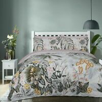 Floral Print Duvet Cover Set Single Super King Size Double Bedding Quilt Bedding