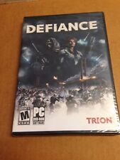 Sealed-DEFIANCE: JOIN THE FIGHT. PC-DVD SOFTWARE -Free Shipping