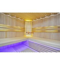 Led lighting Moon Sauna