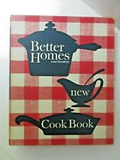 1962 Better Homes & Gardens New Cook Book 5-Ring Binder Baking Chef