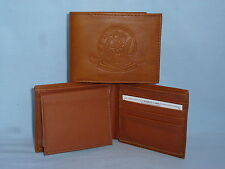 United States Navy  USN   Leather BiFold Wallet    NEW    brown 4