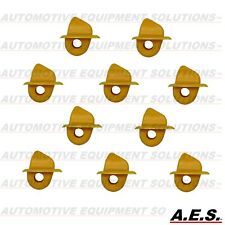 Coats Corghi Tire Changer Mount Demount Head Plastic Inserts Yellow 10pc