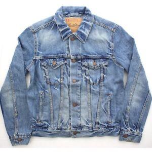 Levi's Trucker Jean Jacket Men's Levi Signature Denim Button Down, 4 Pockets
