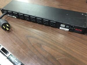 APC AP7901 8 Outlet Switched Power Rack