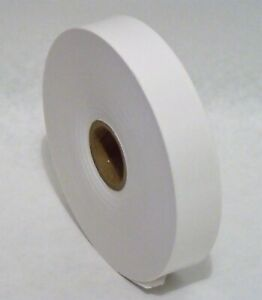 "1"" x 500' Roll WHITE KRAFT PAPER TAPE"