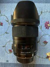 Sigma Art 35mm f/1.4 DG HSM Art Lens for Nikon F