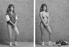 Fine Art Nude black & white photo by Craig Morey: Haley Before & After
