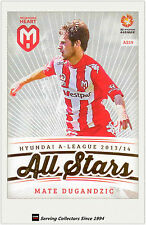 2013-14 A League Trading Cards All Stars AS19 Mate Dugandzic (Melbourne Heart)