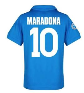 Diego·Maradona #10 Jersey Argentina 1986 Classic Vintage Soccer Football Shirt