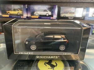 Minichamps 2005 VW Golf R32 Black 1/43 MIB Ltd Ed 400 054501