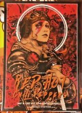 2017 RED HOT CHILI PEPPERS LOUISVILLE FEMALE PILOT CONCERT POSTER 5/16 #/250 MNT