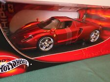 Hot Wheels Whips Edition Ferrari Enzo red chrome 1:18 diecast car