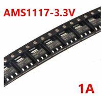 FREE SHIP 10Pcs AMS1117 3.3V 1A SOT-223 Voltage Regulator NT00206 High Quality