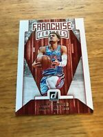 2019-20 DONRUSS PANINI TRAE YOUNG # 9 FRANCHISE FEATURE  BASKETBALL CARD HAWKS