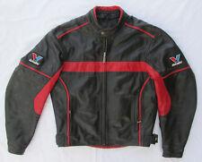 VINTAGE MOTORCYCLE MOTORBIKE VALVOLINE RACING JACKET LEATHER NUMBER 50!!!