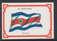 Monty Gum 1980 Flags Cards - Card No 30 - Costa Rica (T643)