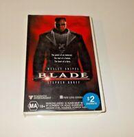 Blade VHS Pal Roadshow Wesley Snipes