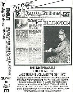 DUKE ELLINGTON INDISPENSABLE V. 7 & 8 [1941-2] CASSETTE ALBUM JAZZ TRIBUNE 55
