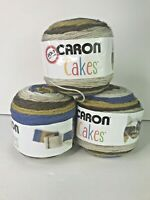 Caron Cakes Royal Icing 17014 - Discontinued Color - Lot of 3 Worsted Yarn