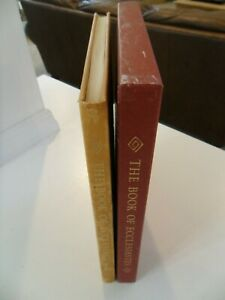 THE BOOK OF ECCESIASTES ~ LIMITED EDITIONS CLUB ~ 1969 ~ KING JAMES VERSION