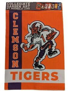 Clemson University Collegiate Garden Flag Tigers Magnolia Lane