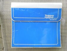 Vintage Blue Trapper Keeper with Notepad