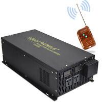 Pure Sine Wave Inverter 12V to 230V 240V 10000W Solar Converter Remote Switch