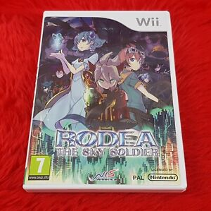 wii RODEA The SKY SOLDIER Game Rare Release PAL UK English Version