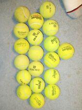 Box of 19 used Tennis Balls
