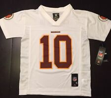Robert Griffin III RG3 #10 Washington Redskins NFL White Football Jersey Youth S