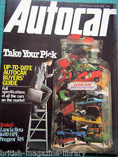Autocar 2/4/1979 AC Cobra Lancia Beta 1600 HPE Peugeot 305 Kenyan Rally Report