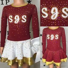Cheerleading Uniform Real Allstar SJS youth XS Rebel Athletics