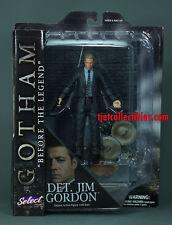Gotham Select Detective Jim Gordon Action Figure MOC Diamond Select 2015