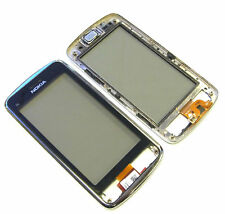 Original Nokia C6-01 Pantalla Táctil Digitalizador Cristal Marco + Auricular