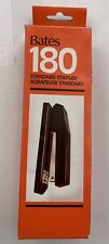 Bates 180 Standard  Black Stapler NEW IN BOX