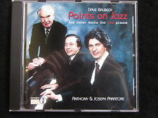 Dave Brubeck: Points on Jazz (AUSTRIA CD) and the other works for two pianos...